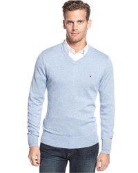 Men's Light Blue Sweaters by Tommy Hilfiger | Men's Fashion