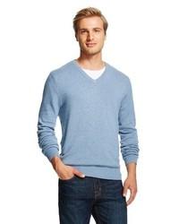 Merona Sweaters Heather Blue Tm
