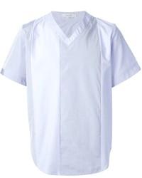 Carven Panelled V Neck T Shirt