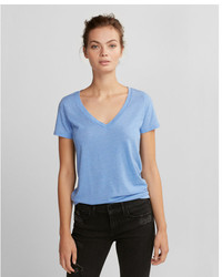One eleven burnout v neck slim tee medium 5258644