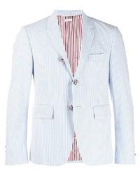 Thom Browne Seersucker Striped Blazer