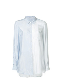 T by Alexander Wang Shiny Striped Shirt