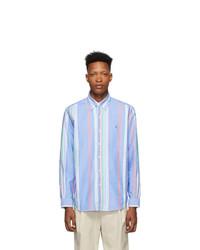 Polo Ralph Lauren Blue Striped Oxford Shirt