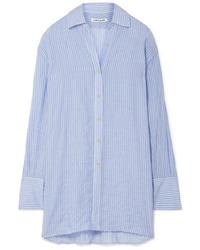 Elizabeth and James Francois Striped Voile Shirt