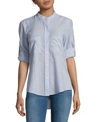 BCBGMAXAZRIA Gibson Striped Long Sleeve Shirt