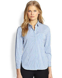Theory Jolyon Striped Shirt