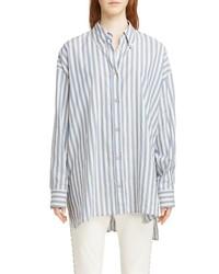 Isabel Marant Maca Oversized Stripe Shirt