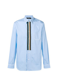 N°21 N21 Contour Striped Classic Shirt