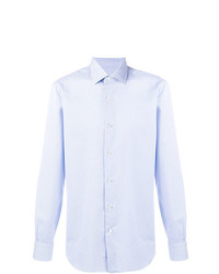 Barba Pinstripe Button Down Shirt