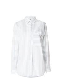 Marco De Vincenzo Pocket Striped Shirt