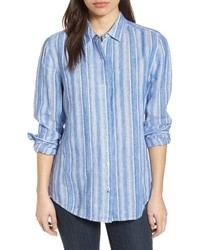 Santiago stripe shirt medium 8760347