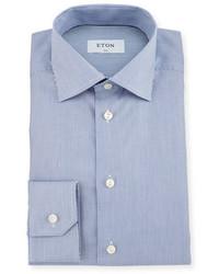 Slim fit bengal stripe dress shirt blue medium 791451
