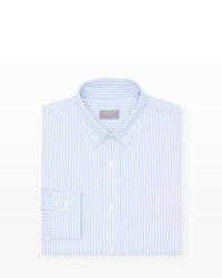 Club Monaco Slim Fit Striped Dress Oxford