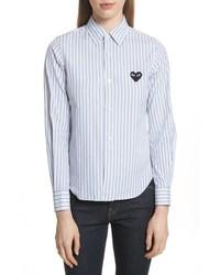 Comme Des Garcons Play Stripe Shirt