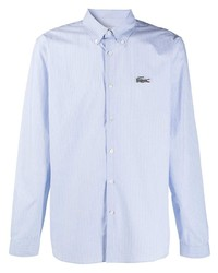 Lacoste Striped Button Down Cotton Shirt