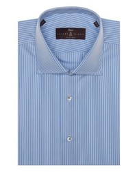 Robert Talbott Tailored Fit Stripe Dress Shirt