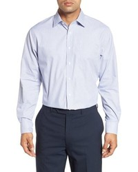 Nordstrom Men's Shop Traditional Fit Non Iron Stripe Dress Shirt