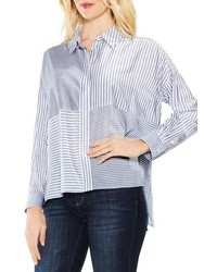 Vince Camuto Two By Mix Stripe Shirt