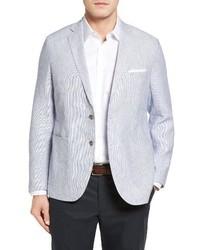 Peter Millar Island Pinstripe Linen Sport Coat