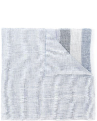 Fay Stripe Panel Scarf