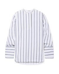 By Malene Birger Striped Cotton Poplin Shirt