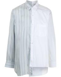 Lanvin Asymmetric Button Up Shirt