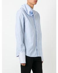 JW Anderson Beach Striped Scarf Shirt