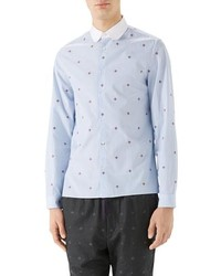 Gucci Bee Fil Coupe Sport Shirt