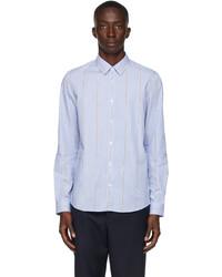 A.P.C. Blue Anthony Striped Shirt