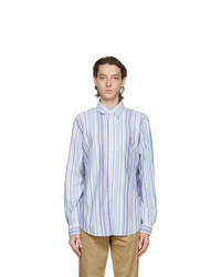 Polo Ralph Lauren Blue Striped Classic Fit Shirt