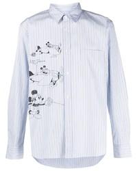 Comme des Garcons Homme Deux Comme Des Garons Homme Deux Mickey Striped Shirt