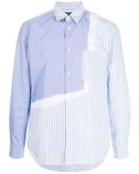 Comme des Garcons Homme Deux Comme Des Garons Homme Deux Panelled Cotton Shirt