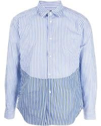 Comme des Garcons Homme Deux Comme Des Garons Homme Deux Striped Colour Block Shirt