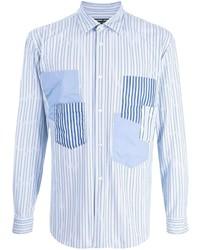 Comme des Garcons Homme Deux Comme Des Garons Homme Deux Striped Long Sleeve Shirt