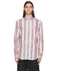 Vivienne Westwood Multicolor Striped Krall Shirt