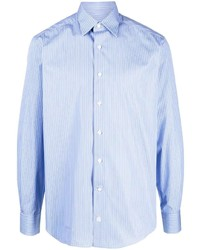 Lanvin Pinstriped Long Sleeve Shirt