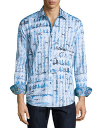Robert Graham Shallow Ponds Long Sleeve Sport Shirt