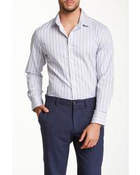 Simon Spurr Spurr Long Sleeve Striped Shirt