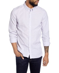 French Connection Slim Fit Pinstripe Shirt