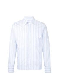Kent & Curwen Striped Shirt Jacket