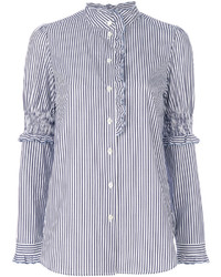 See by Chloe See By Chlo High Neck Pinstriped Shirt