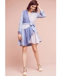 Maeve Mve Newport Striped Shirtdress