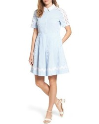 Seersucker shirtdress medium 4136611