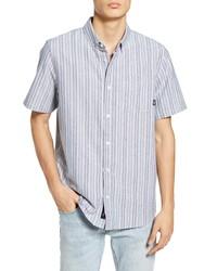 Vans Anton Stripe Short Sleeve Oxford Shirt