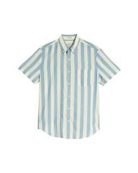 J.Crew Regular Fit Madras Stripe Sport Shirt