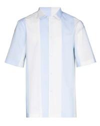 Salvatore Ferragamo Striped Short Sleeve Shirt