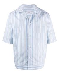 Brioni Striped Short Sleeved Shirt