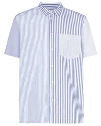 Wood Wood Thor Vertical Stripe Shirt