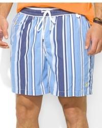 Ralph Lauren Polo Traveler Striped Nylon Swim Shorts