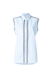 Maison Margiela Striped Sleeveless Shirt